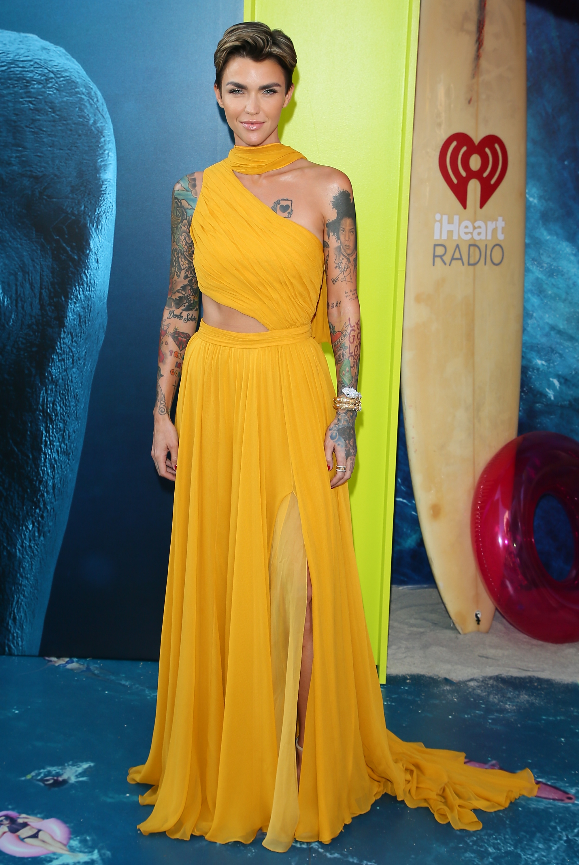 "<p>Australian Model-turned-actress Ruby Rose has undergone many style transformations throughout her decade in the spotlight.</p> <p>From her <a href=""https://style.nine.com.au/2017/09/26/09/29/style_ruby-rose-beauty-secrets"" target=""_blank"" title=""edgy, short cropped 'do"" draggable=""false"">edgy, short cropped 'do</a> and love of luxury designs from the likes of Dion Lee and Burberry which have won her International style fame and <a href=""https://style.nine.com.au/2017/05/02/08/15/met-gala-red-carpet-2017/13"" target=""_blank"" title=""a place on the Met Gala guest list"" draggable=""false"">a place on the Met Gala guest list</a>, to her days as a VJ for MTV Australia when straight, black bangs and tartan dresses were her signature look, she has never been afraid to push the boundaries in the style stakes.</p> <p>With the news that the the 32-year-old has just been named as the first-ever LBGT actress to take on the role of Batwoman for a yet-to-be-named series for the CW network, we are sure she will put her own rebellious sartorial stamp on the batsuit.</p> <p>""This is something I would have died to have seen on TV when I was a young member of the LGBT community who never felt represented on tv and felt alone and different. Thank you everyone. Thank you god,"" Rose shared with her <a href=""https://www.instagram.com/rubyrose/?hl=en"" target=""_blank"" title=""12.8 million followers on Instagram."" draggable=""false"">12.8 million followers on Instagram.</a><br /> <br /> In honour of Ruby Rose's historic appointment we look back at the style evolution of Ruby Rose.</p>"