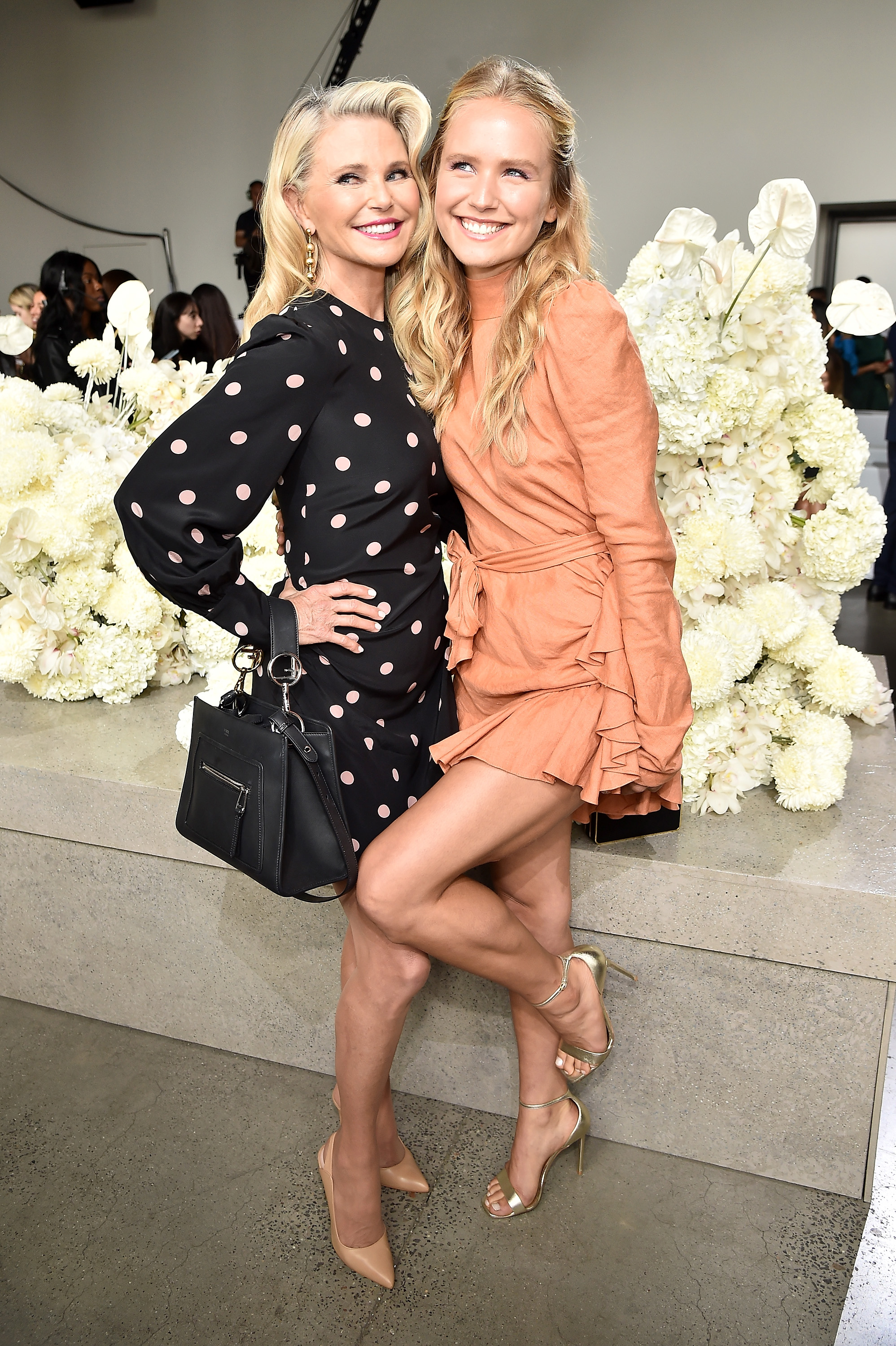 34fcc7294091 Christie Brinkley and her mini-me are each other's best accessory