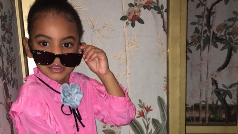 Blue Ivy came to slay in her first fashion shoot