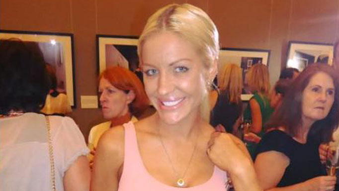 A happy, healthy Brynne at a photography exhibit. Image: Instagram
