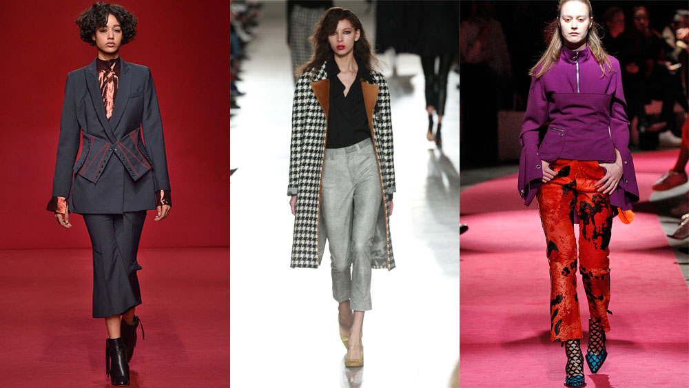 <p>In the evolution of the skinny jean to the boyfriend jean and the classic flare, the seasons newest (and most prominent) denim shape is slightly more succinct. Introducing the crop flare; Seen everywhere from runway to Rue Montemarte, the abbreviated kick flare is the essential wardrobe update for the season.</p><p>Click through to be inspired by early adopters and shop the trend.</p>