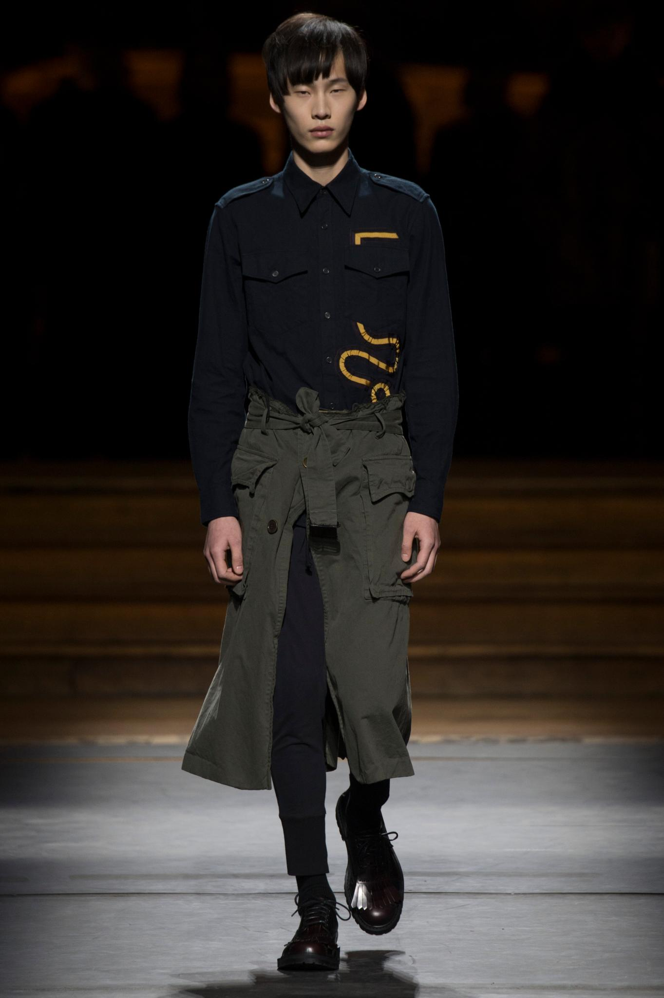 <p>From shirting to skirts, the menswear collections had plenty to offer the fairer sex. </p><p>Dries Van Noten</p>