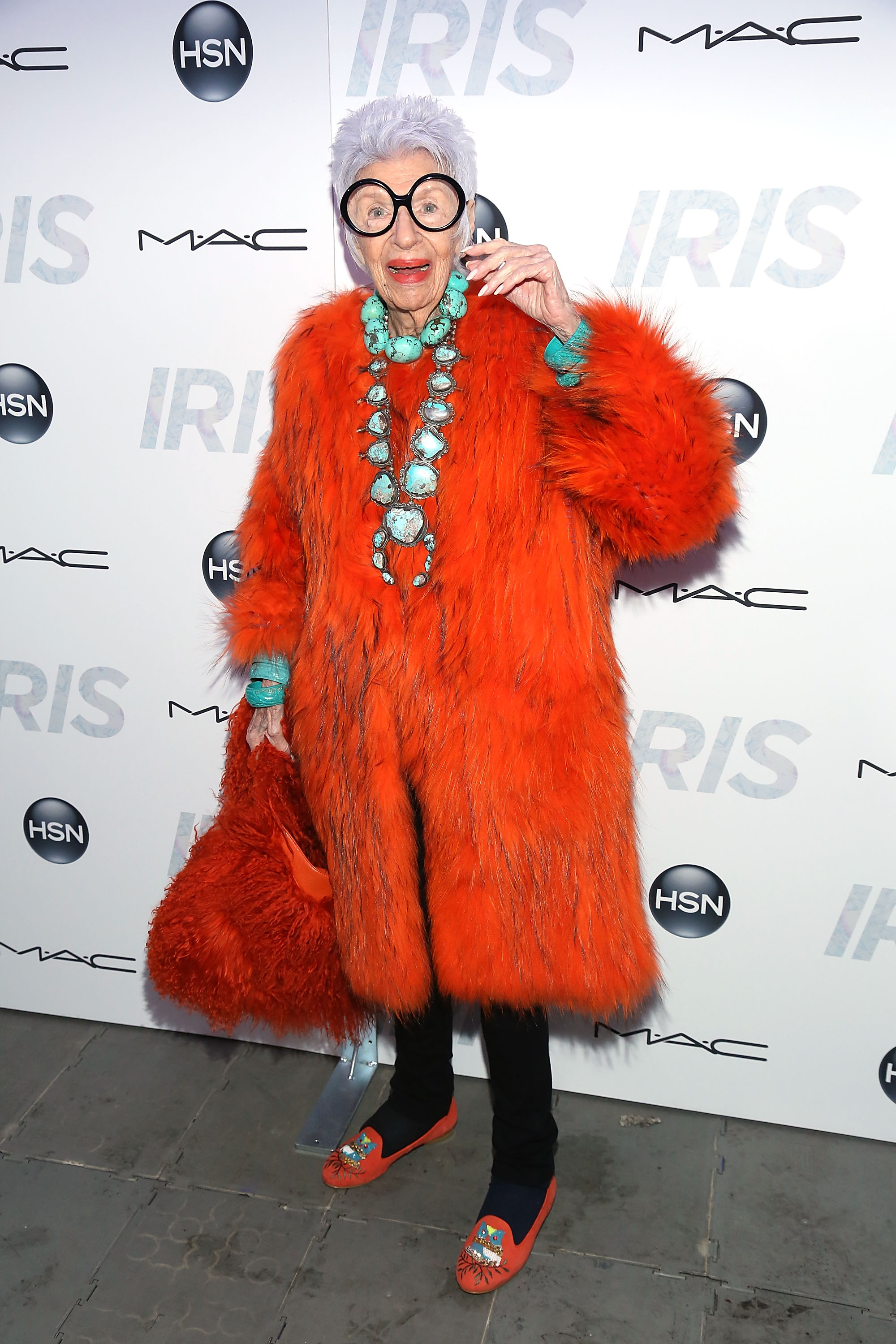 """<p>To celebrate this month's release of <em>Iris, </em>theAlbert Mayslesdocumentary about 93-year-old style icon Iris Apfel, we revisit some of the best looks from fashion's beloved """"geriatric starlet"""". Her mantra? More is more and less is a bore.</p>"""