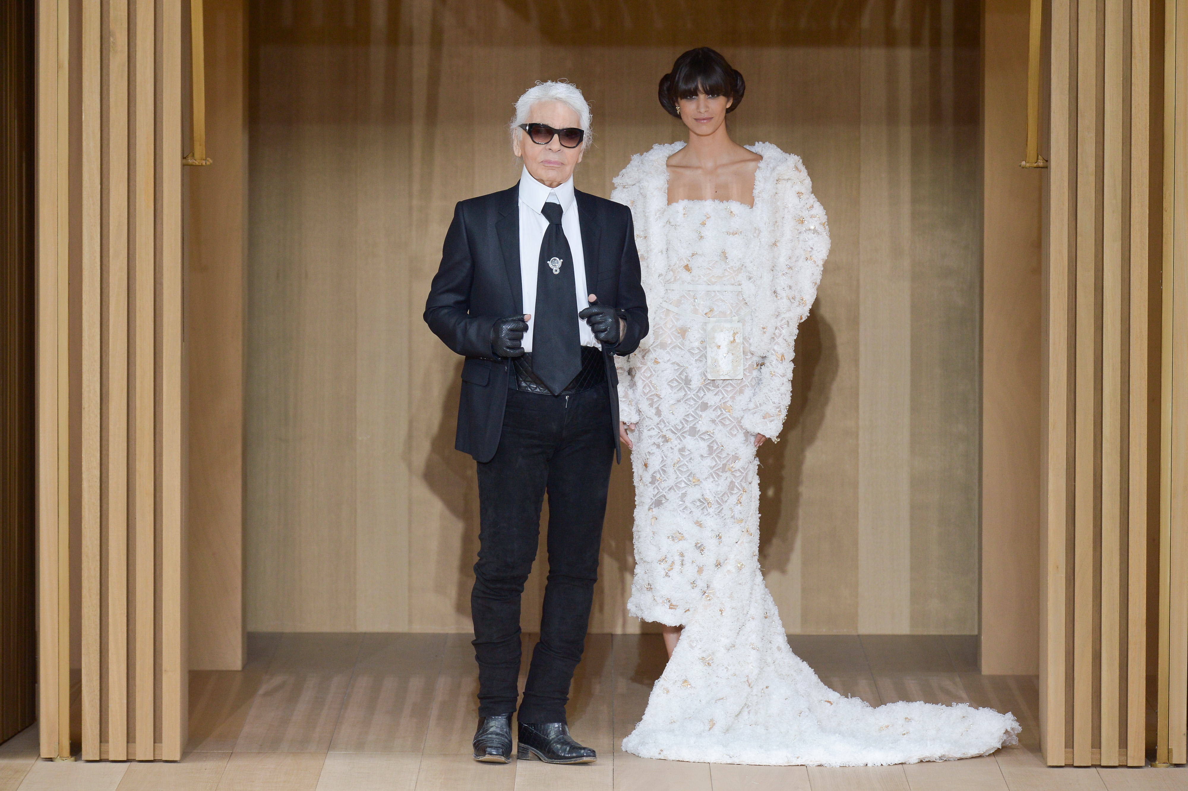 Karl Lagerfeld is arguably one of the world's most prolific designers, lending his expert hand to almost 20 collections a year for Chanel, Fendi and his own eponymous label. Known for his alchemic ability to tirelessly produce cult-status hits, he is now turning his attention - and chic, avant-garde aesthetic - to a capsule collection of engagement rings. With a perceptible fascination for weddings  - the 'Chanel bride' accompanies Lagerfeld on his finale bow at the end of his couture shows - one wonders what took so long for this match-made-in-heaven to be realised...