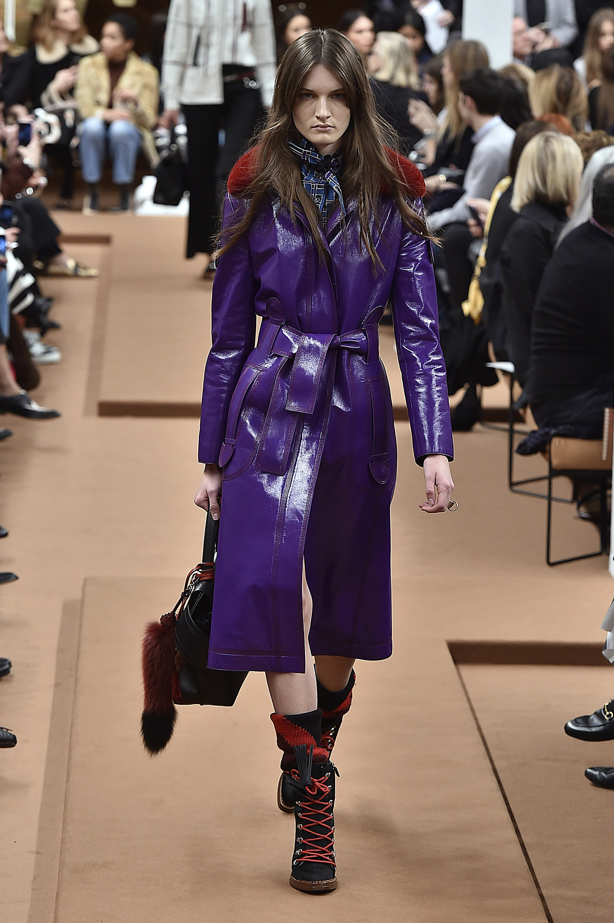 <p>For centuries it was the colour of royalty, power and wealth because of the rarity and cost of the dye required to make purple clothing. In fact, the shade was once so exclusive that Queen Elizabeth I forbade anyone but the royal family to wear it. </p><p>Now, purple has connotations that run the gamut from glam rock to the occult. It's a truly magical shade - use its powers wisely.</p>