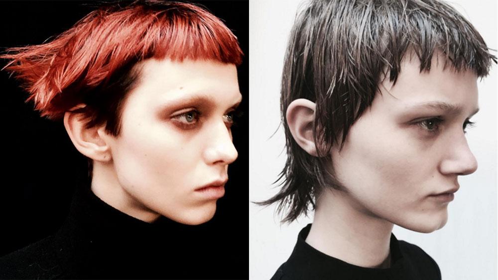 Haircuts at Alexander Wang fall 2016