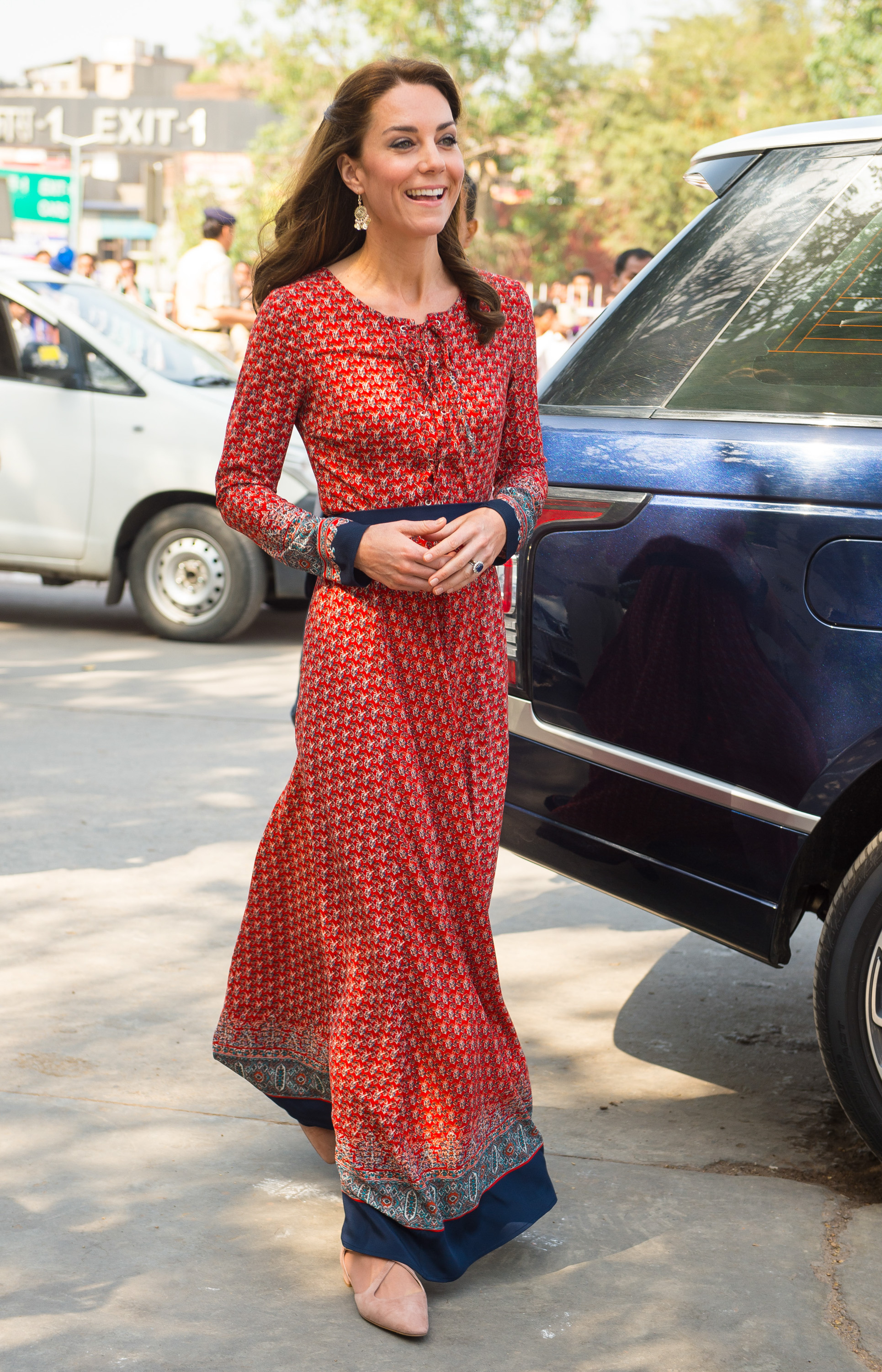During the Duke and Duchess of Cambridge's tour of India and Bhutan, Kate Middleton has worn some truly inspired looks - one of which caused designer Anita Dongre's website to crash in the frenzy that followed. Taking influence from Indian and Bhutanese prints, and even mixing traditional dress with designer fashion, this is surely Kate's chicest tour yet.