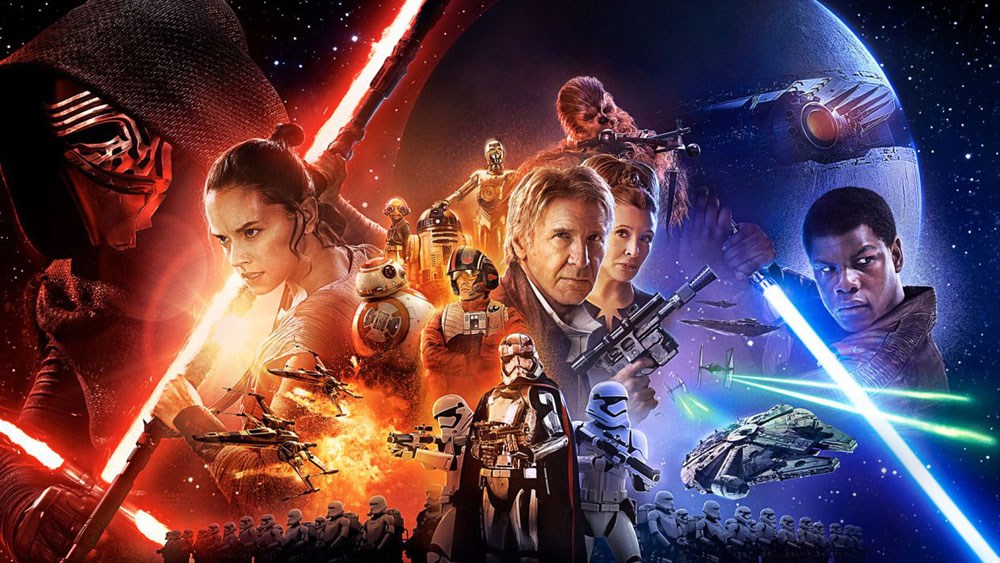 Star Wars posts record opening weekend in North America