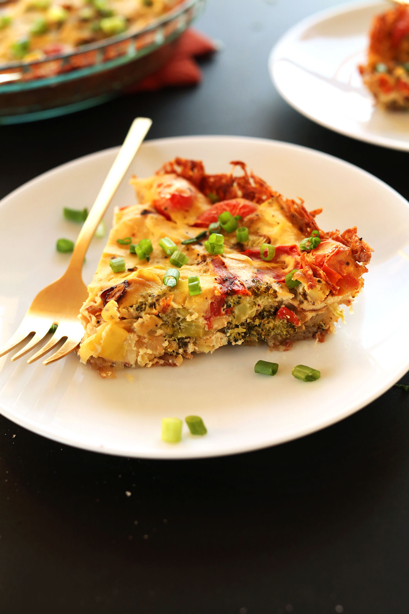 breakfast vegan broccoli quiche broccoli traditionally hated by ...