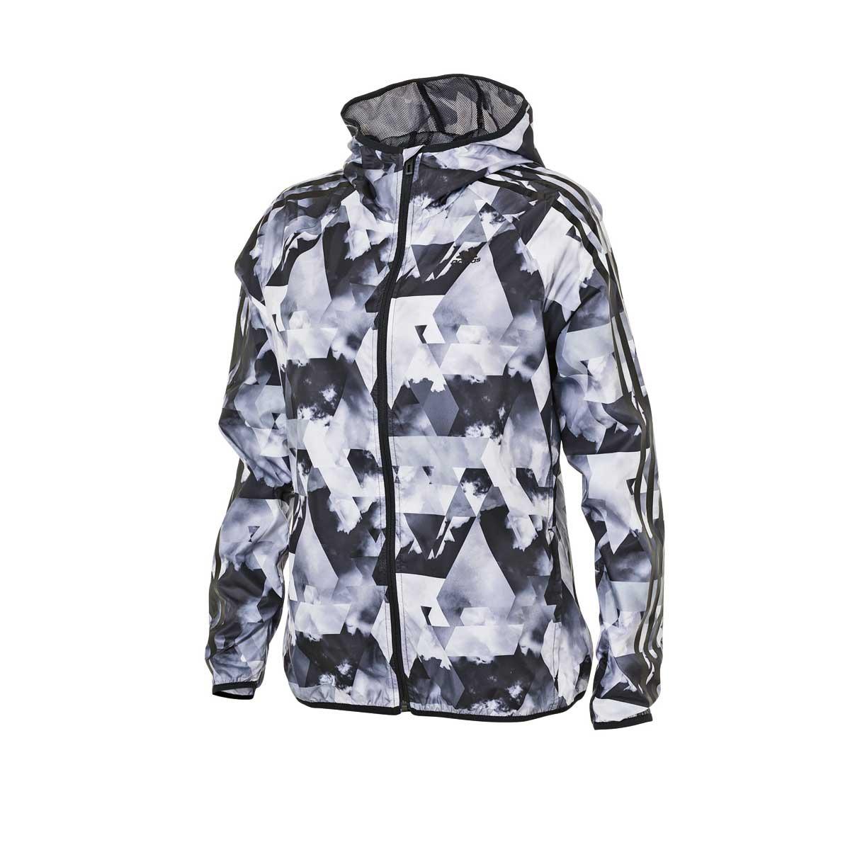 <strong>Adidas Women's Sportswear ID3 Stripe Windbreaker</strong>
