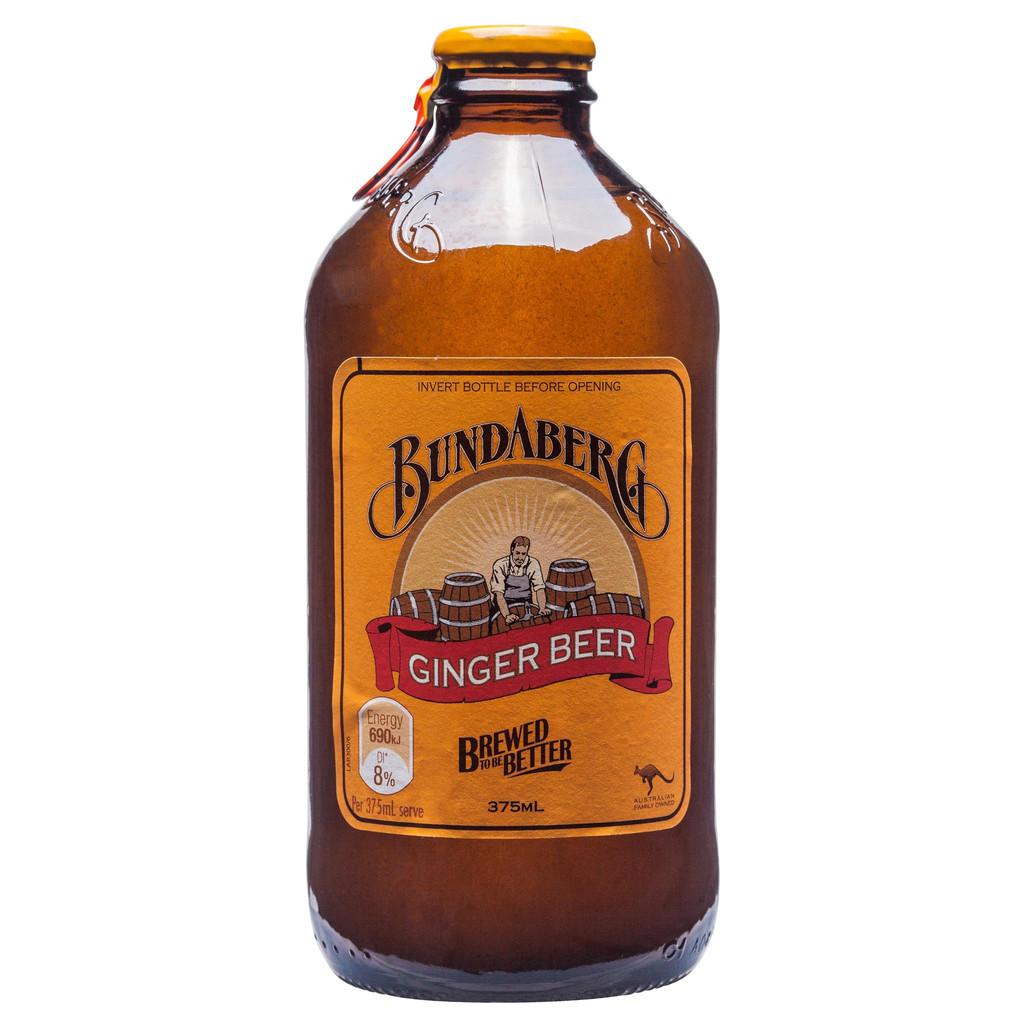 375ml bundaberg ginger beer 40 5 grams of sugar teaspoons of sugar ...