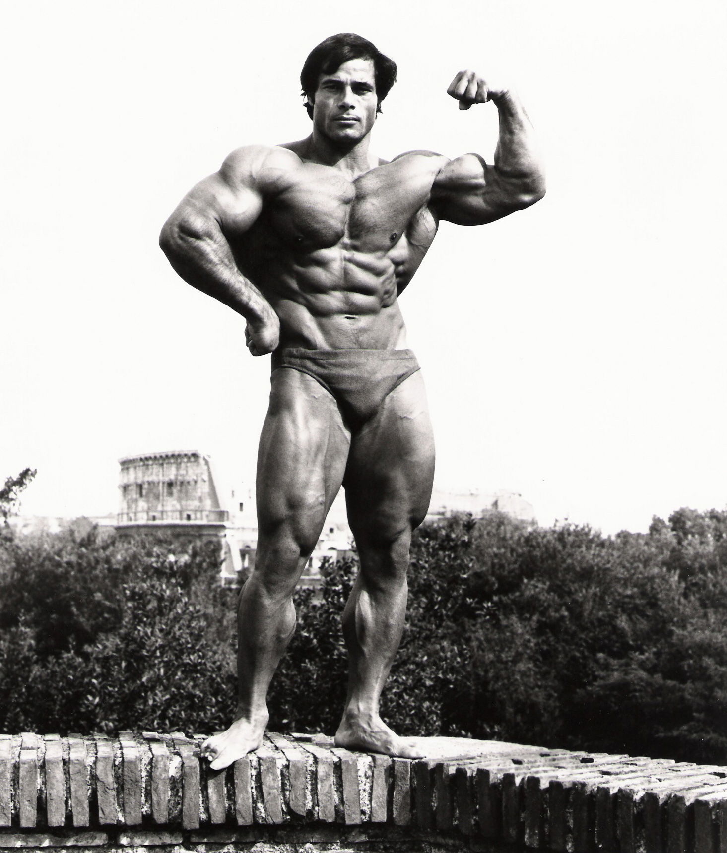 <strong>Franco Columbu then...</strong>