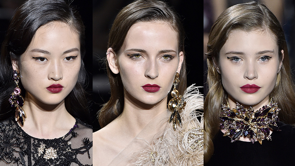The new way to wear red lipstick