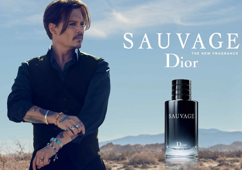 First look at Johnny Depp's Dior campaign