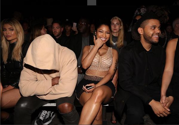 Alexander Wang always has plenty of famous faces front row and this year was no exception. Some guests, however, looked happier to be there than others.