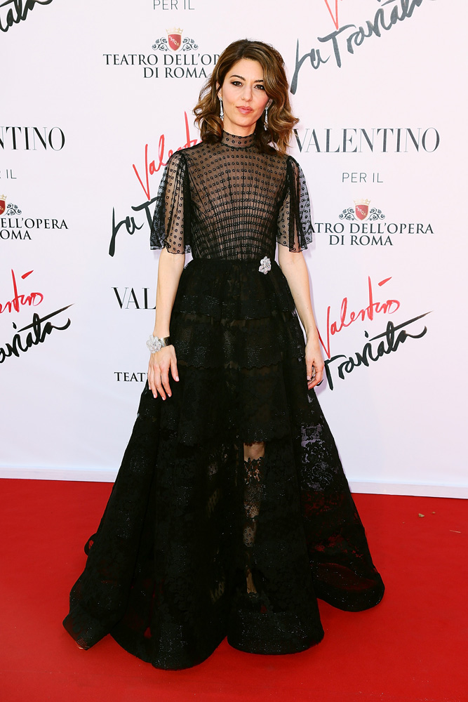 When fashion's favourite director, Sofia Coppola, makes her first foray into opera you know the opening night is going to be one stylish affair. Combine her flawless eye with the fact the show's costumes are designed by Valentino himself, and you've got a red carpet to rival the Met Gala. Last night's opening of La Traviata in Rome saw everyone from Kimye to Keira Knightley turn up to support the director – decked out in Valentino finery, of course. Click through to see what everyone wore.