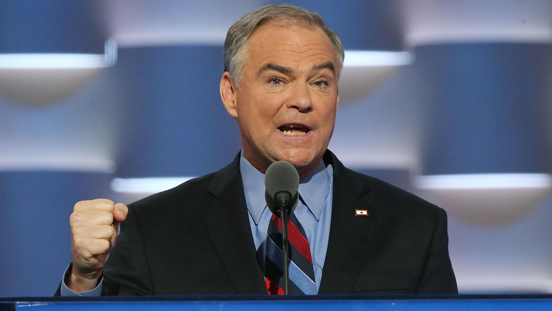 U.S. Vice Presidential hopeful upstaged by his eyelashes