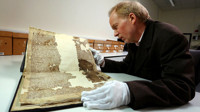 Magna Carta copy found in UK council archives