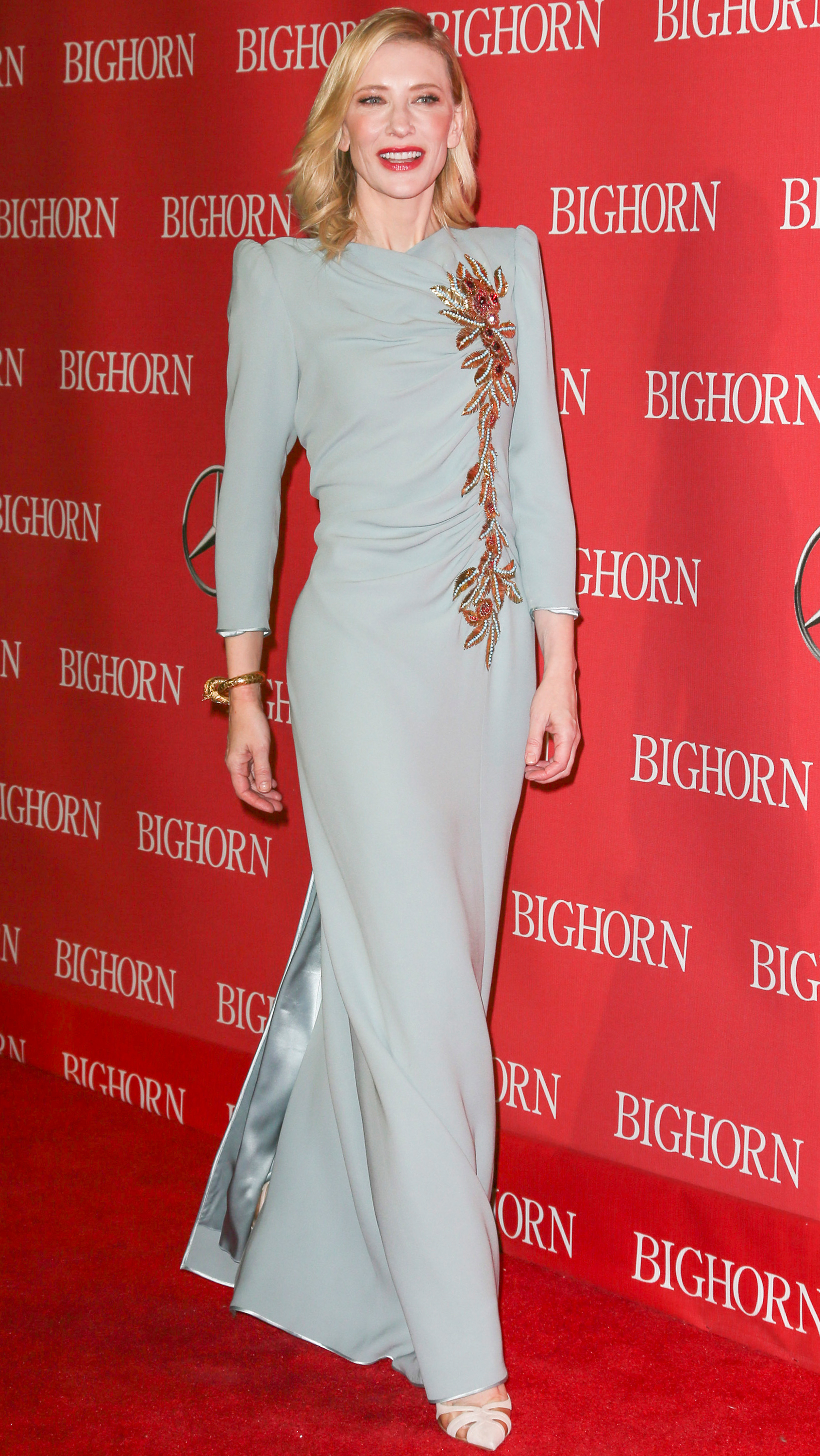<p>The Palm Springs International Film Festival provided plenty of red carpet style this weekend when it honoured Cate Blanchett and Johnny Depp with Achievement Awards.</p><p>Blanchett took home the unofficial 'Best-Dressed' award in a pale blue, custom Marc Jacobs gown, while Depp showed he has no intention of retiring his bad boy style, accepting the honours with long, wet-looking hair and dusty trousers. Luckily, wife Amber Heard was on hand to bring the requisite polish.</p><p>Click through to see all the best looks from the night.</p>