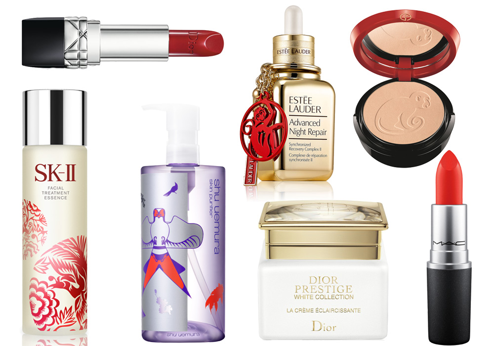 <p>In honour of Chinese New Year on 8 February, many luxury brands have released special products to commemorate the Year of the Monkey. In other words, there's an abundance of exciting new beauty loot to get your hands on. </p><p>Just be sure to hurry, because like the restless zodiac sign that inspired them, these products are here for a good time, not a long time. </p>