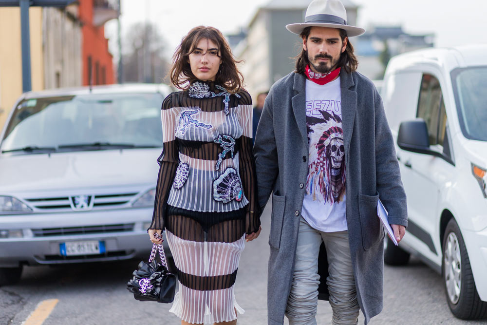 When it comes to a pure, hedonistic appreciation of life's greatest pleasures, Italians do it best. The fashion flock brought out their most playful prints and quirky details for Milan Fashion Week, putting a fresh spin on tailoring in a chic celebration of style. Molto bene!