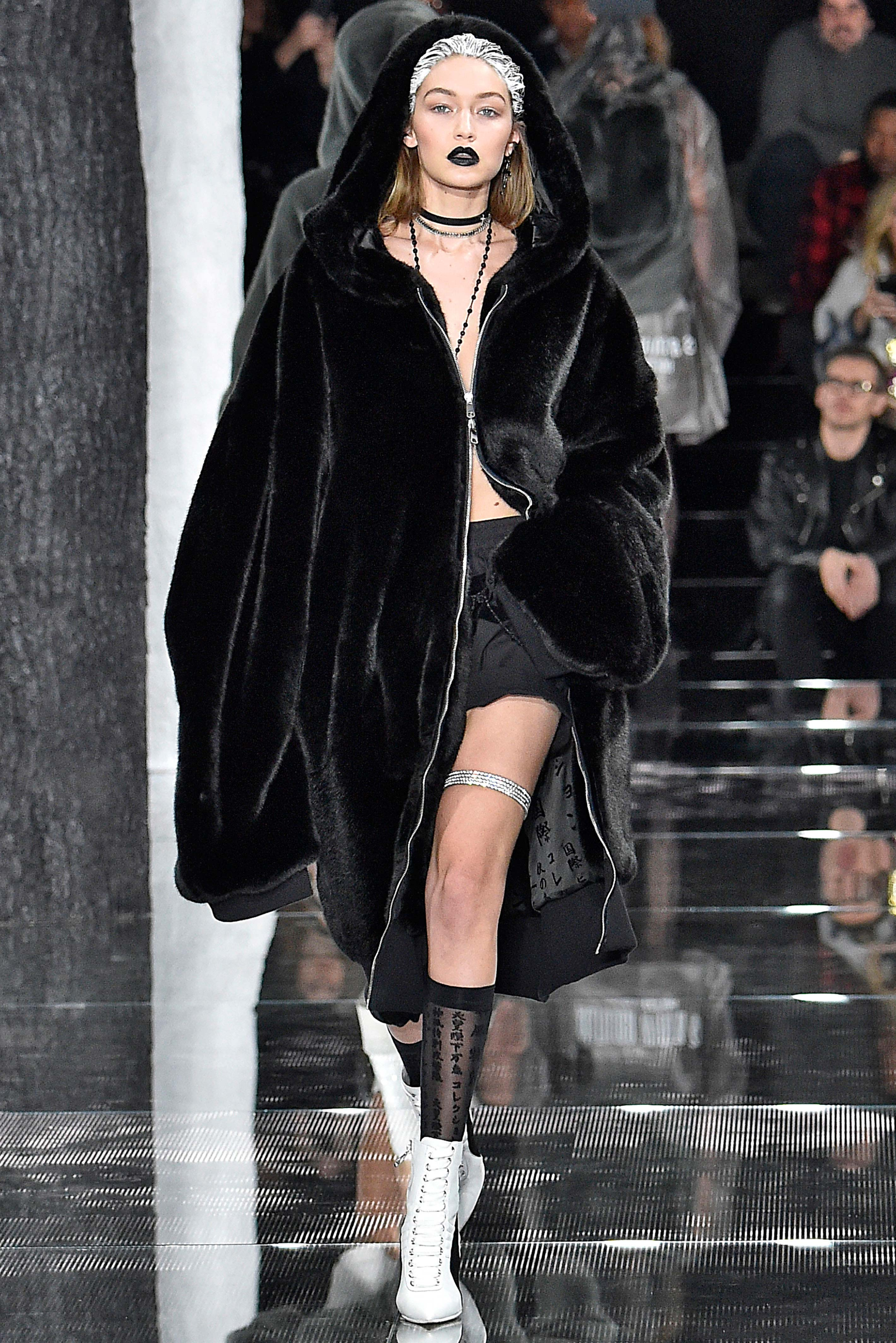 Once the preserve of mischief-making hoodlums everywhere, the hood has experienced a decidedly haute reanimation in the world of high fashion. It made an appearance at Vetements, often with high, sculpted shoulders; at Riri's Fenty x Puma show in the form of plush, furry coats and on the runway at Public School and Rag & Bone.