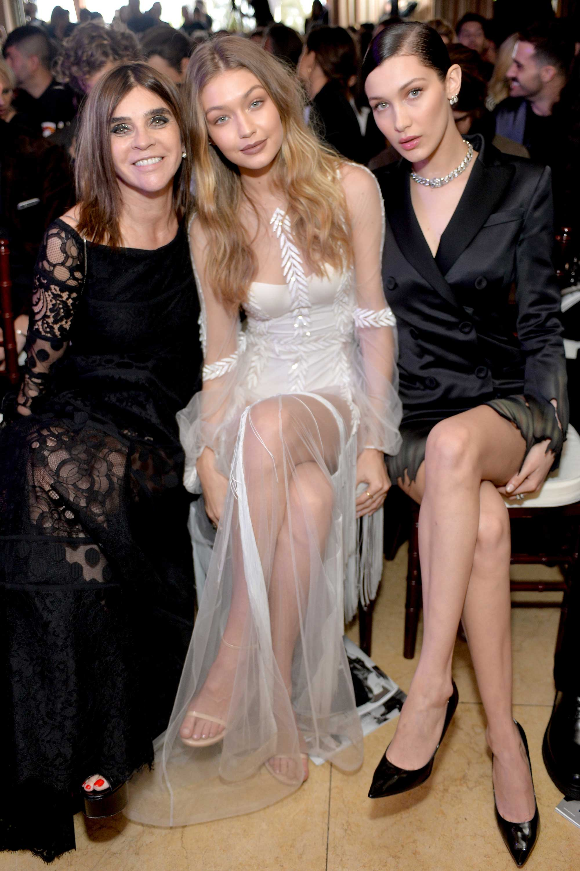 "<p>Fashion's elite hit LA's Sunset Tower Hotel overnight for <em>The Daily Front Row</em>'s second annual Fashion Los Angeles Awards. Big winners included Bella Hadid who, with boyfriend The Weeknd by her side, was crowned Model of the Year. Lady Gaga was named editor of the year for her work guest-editing an issue of <em>V</em>, while Carine Roitfeld won magazine of the year for her title <em>CR Fashion Book</em>. </p><p>Gigi Hadid got emotional presenting Roitfeld with the coveted award saying, ""On a personal note, thank you for believing in and giving me these past few years and being an unequivocal mentor and friend.  My career would be unrecognisable without you.""<br><br>Click through to see who was there and what they wore.</p>"