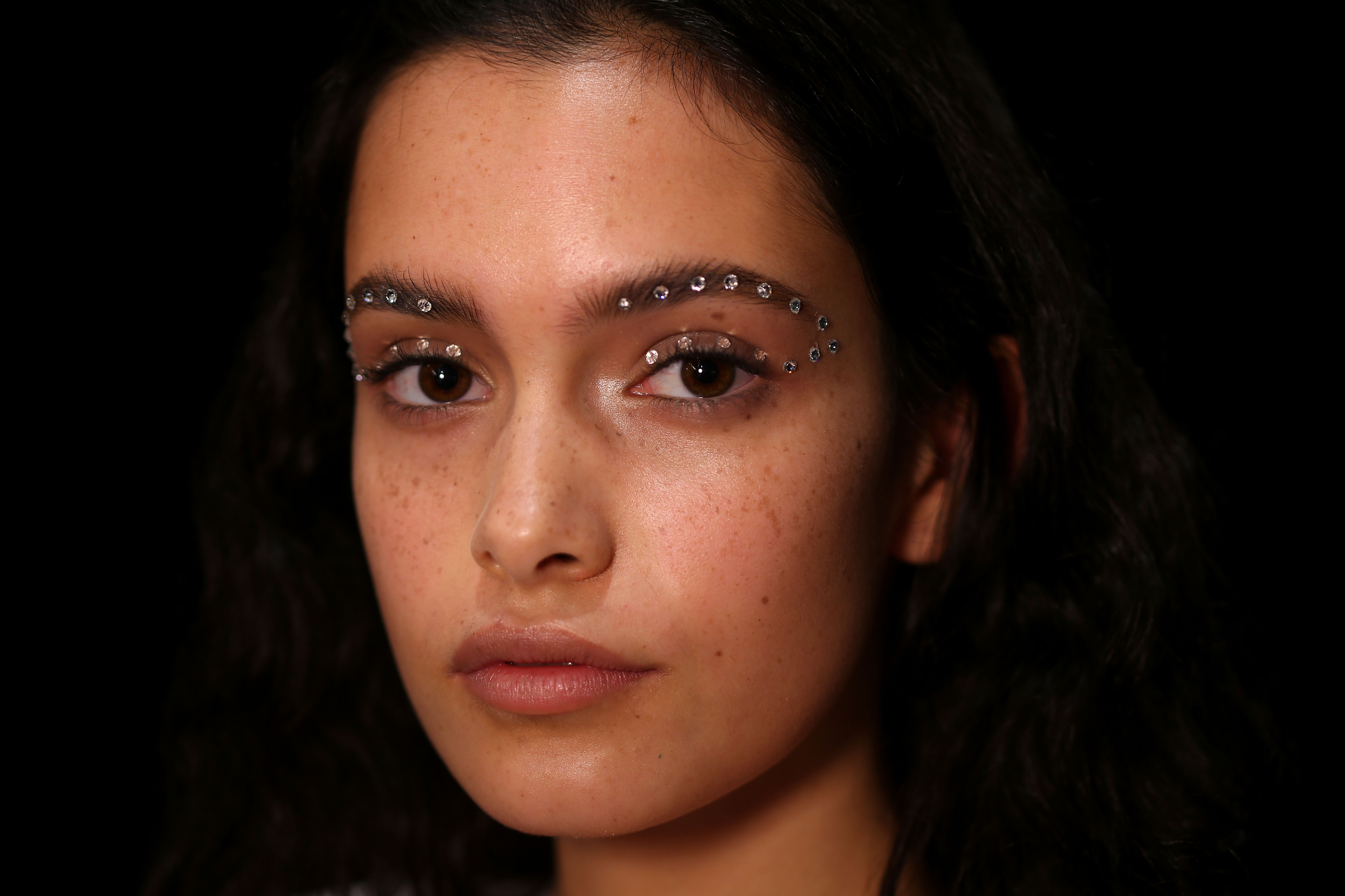The Australian Resort 2017 runways contained all the ingredients for a captivating beauty look, from dramatic and bold to barely there. Glowy, lit-from-within skin was at Albus Lumen and We Are Kindred; artful graphics adorned eyes at Akira and P.E Nation; and can't-wait-to-try-that-at-home hairstyles ruled at Daniel Avakian and C/MEO Collective. Lips stole the show at KitX and We are Handsome, while glittering embellishments brought a hint of drama at Tome, Discount Universe and Emma Mulholland. <br /> Click through for the prettiest backstage looks.