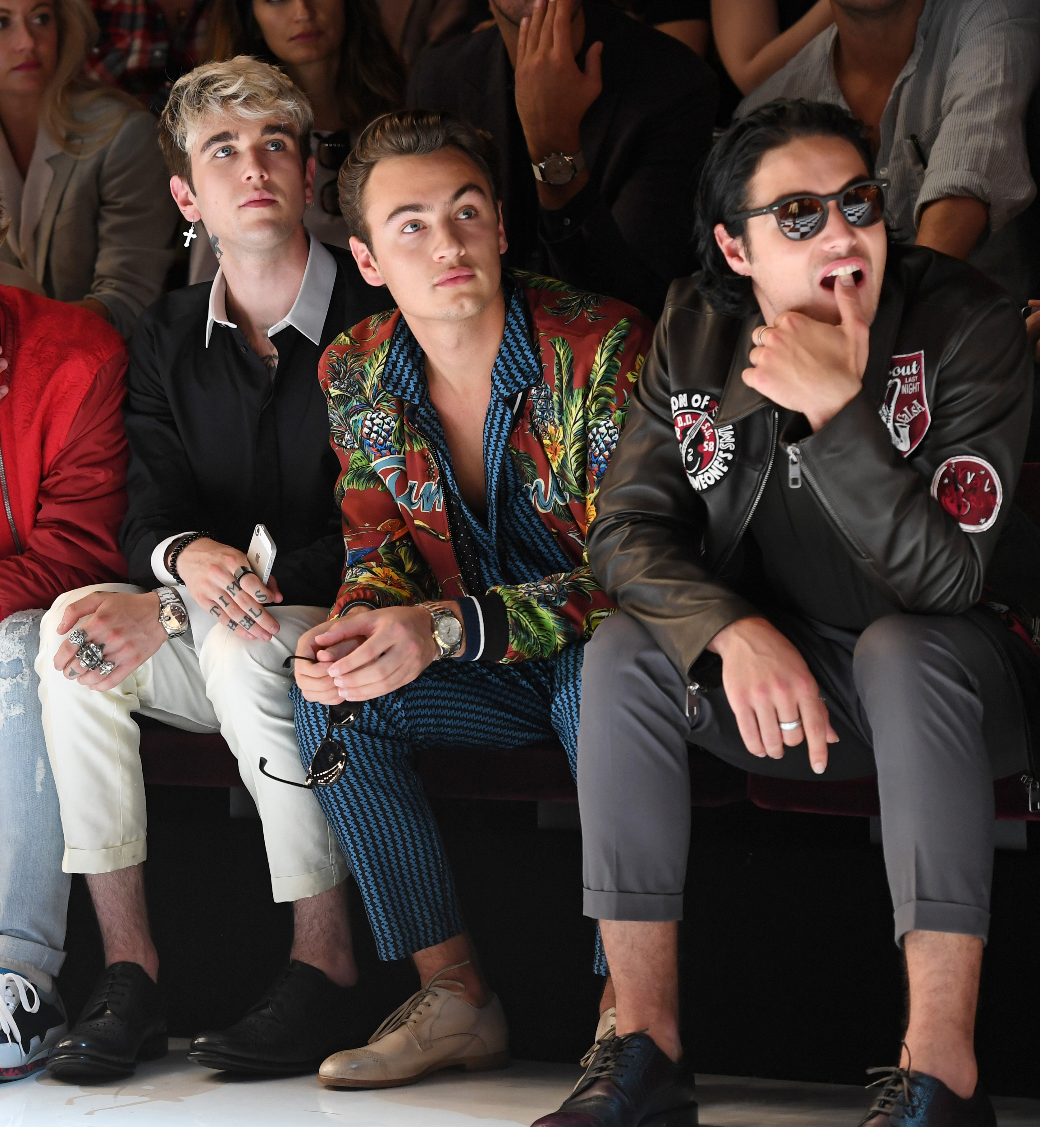 Move over Georgia May Jagger, Gigi Hadid and Kendall Jenner, this Milan Men's Fashion Week it's all about the celebrity offspring guys. From Cindy Crawford's son to Bob Dylan's grandson, meet the next generation of boys who are taking over the front row and runway.