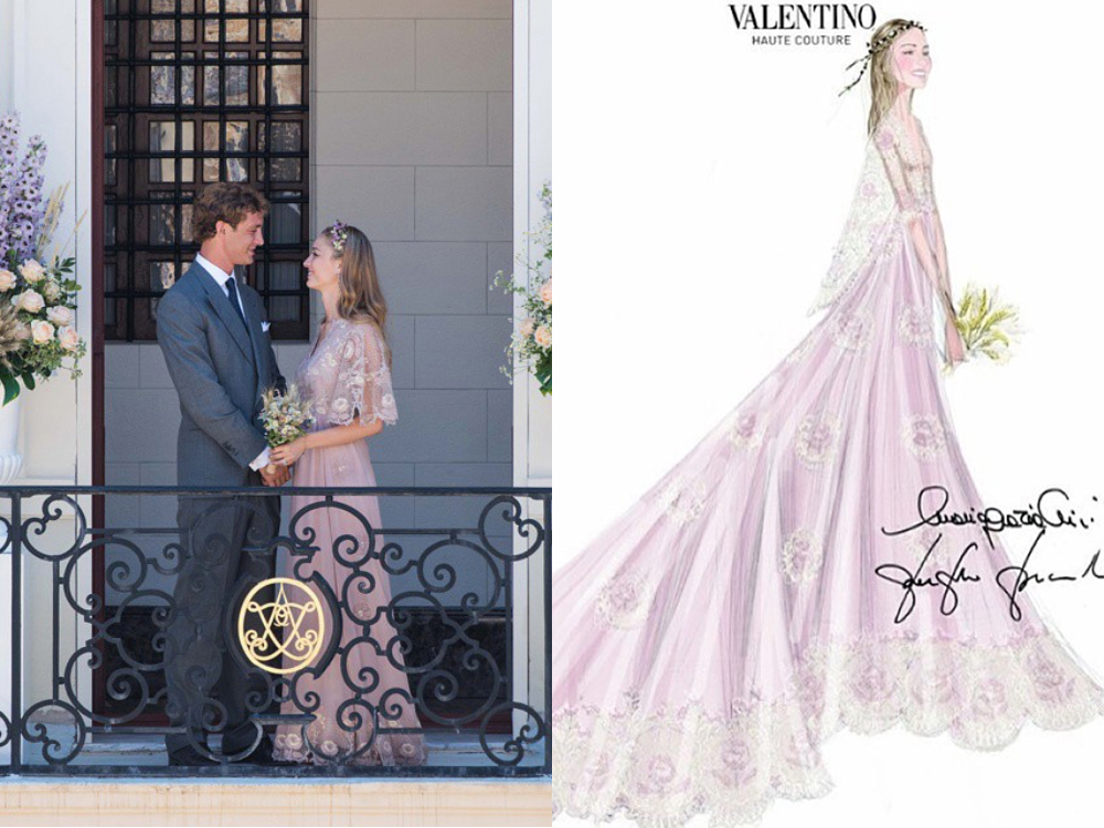 <p>Most women are lucky to wear one wedding dress they adore when they marry the person they adore. Of course, Italian heiress Beatrice Borromeo is an exception to that rule. Attended by Lana Del Rey,Bianca Brandolini d'Adda,Charlotte Casiraghi and Giovanna Battaglia, her wedding toPierre Casiraghi (Grace Kelly's grandson and ninth in line to the Monaco throne) was marked by multiple pre-ceremonies, ceremonies and receptions - and she wore a different gown for each. Sigh.</p>