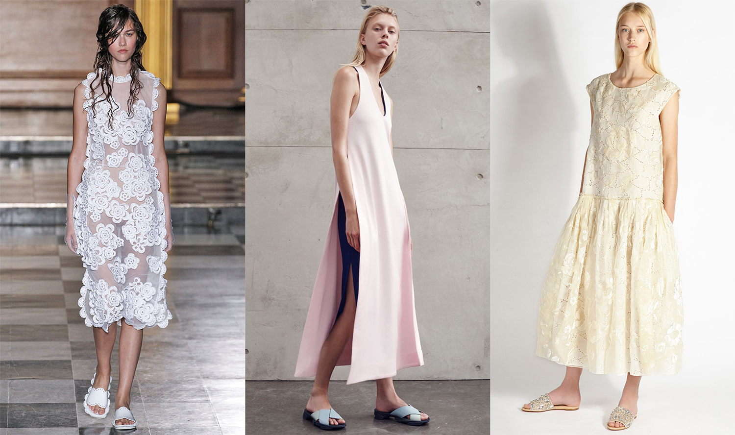 "<p>Ever since Rochas reintroduced the humble slide with crunchy jewels for Resort 2015, its been a firm fixture in the fashion zeitgeist. Now that spring's a hot second away (and your feet are <a href=""http://honey.ninemsn.com.au/2015/08/18/09/03/foot-work"" target=""_blank"">suitably prepped</a>), it's time to shop the chic-yet-relaxed shoe style.</p>"