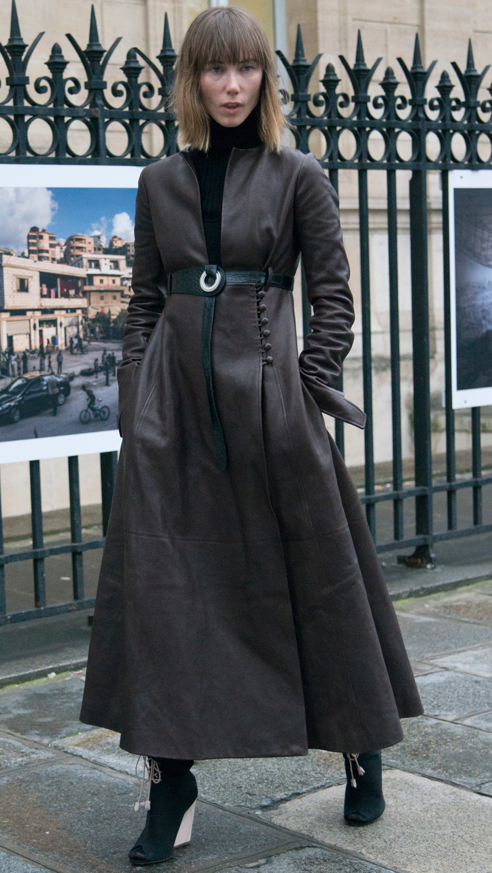 <p>Whether you're up for getting waisted, or think your hips don't lie, let these street stylers inspire you to embrace the humble belt (then shop our new season picks).</p>