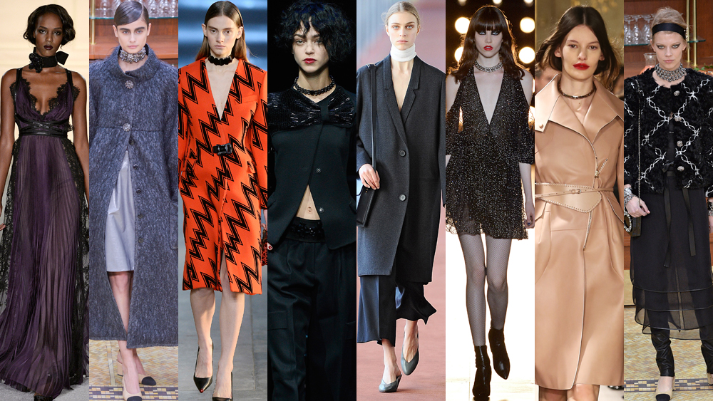 <p>From skinny scarves to high-impact chokers, this season it's all about the neck.</p>