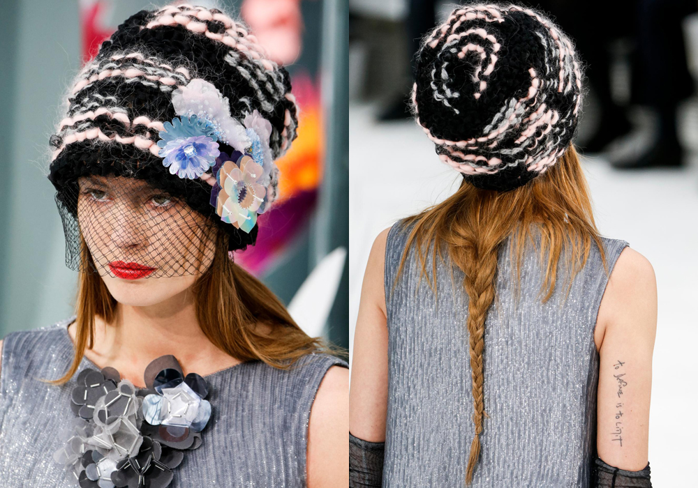 "<p>Beanies aren't just for disguising bad hair days. Take a lesson from the Chanel Haute Couture 2015 show and let them be the star attraction. Hairstylist Sam McKnight created an ""undone, almost unravelled braid"" that was secured loosely with a hat, veil or beanie. Here, we've rounded up 12 of the best to elevate your look.</p>"