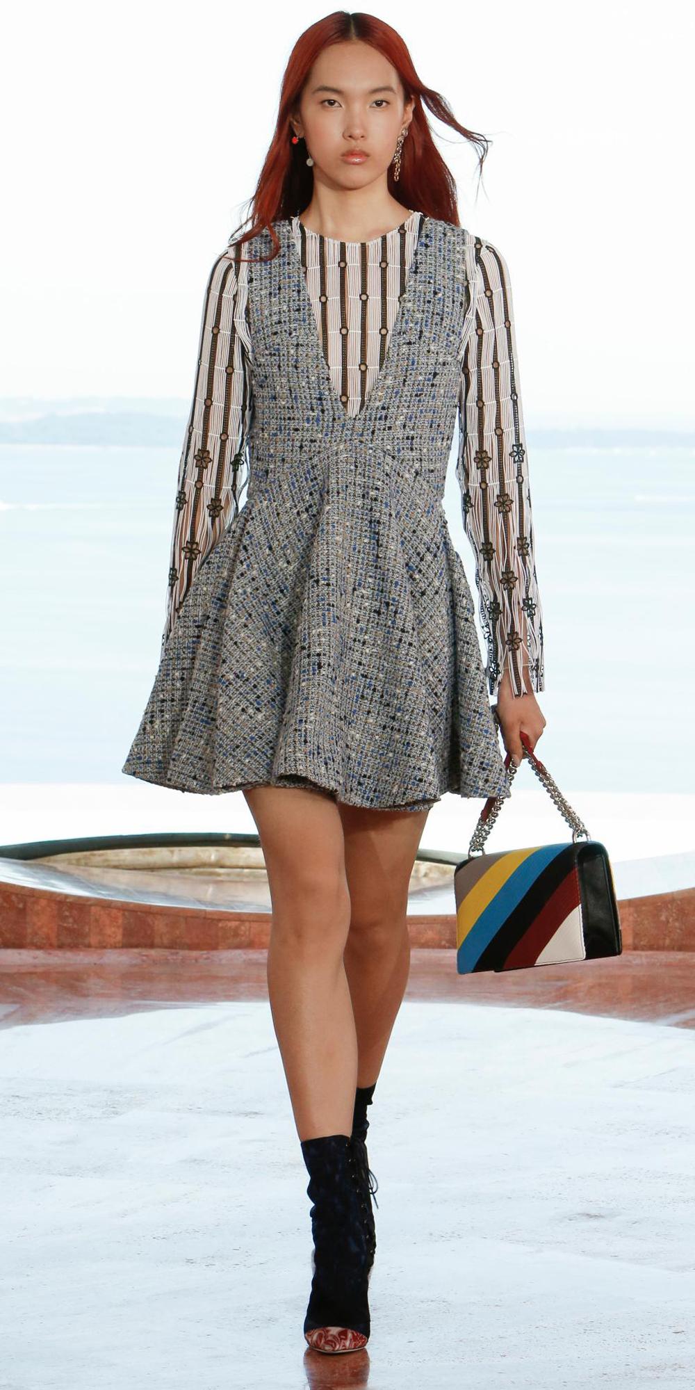 Abbey Lee Joins The Rainbow Hued Model Crew Again