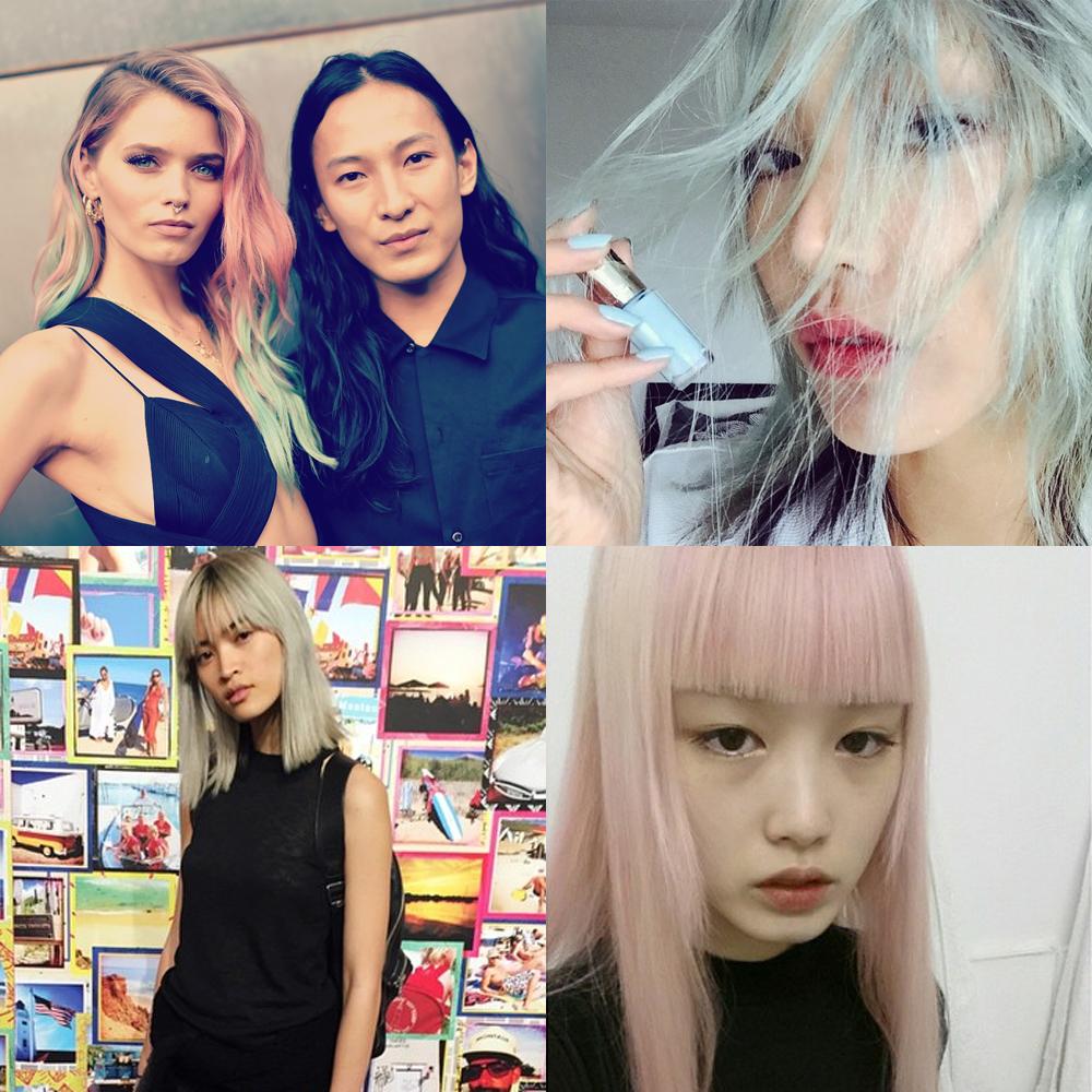 Abbey Lee joins the rainbow-hued model crew (again)