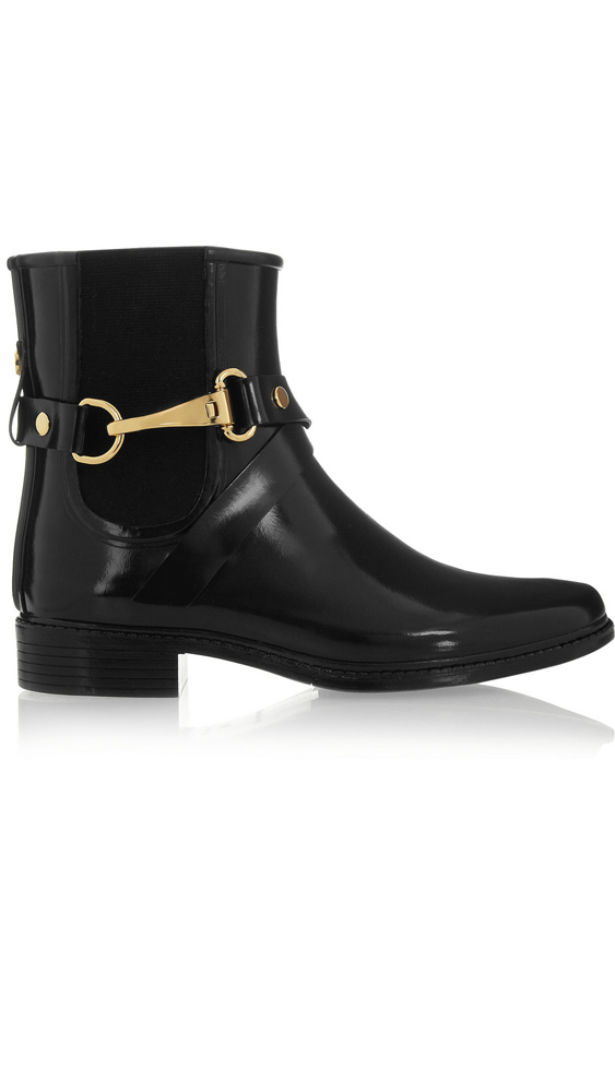 "<a _tmplitem=""1"" href=""http://www.net-a-porter.com/product/440231/Burberry_Shoes_and_Accessories/glossed-rubber-rain-boots""> Glossed-Rubbed Rain Boots, $350.93, Burberry </a>"