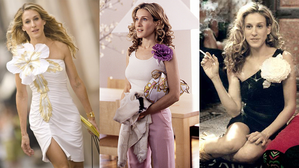Carrie Bradshaw flowers