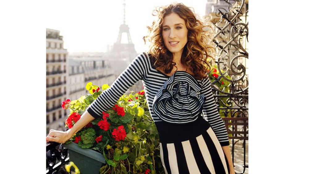 Carrie Bradshaw paris