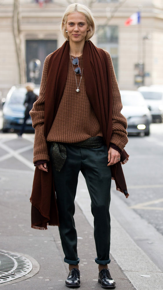 <p>This winter, man up with a pair of trusty brogues in a versatile neutral.</p>