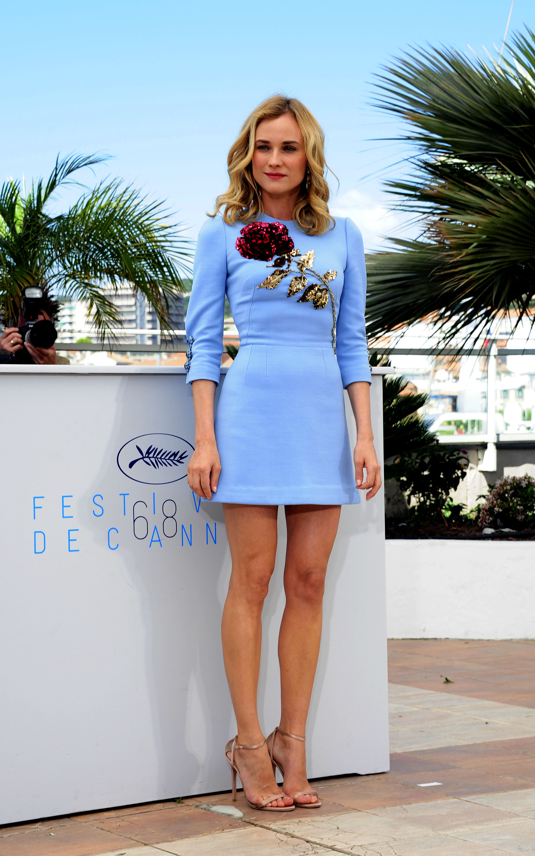 <p>With a legendary party circuit, photo calls and that incredible Riviera coastline to stroll, celebrities are wearing some of their best looks off the red carpet. Here are the all the other great looks you may have missed.</p><p>Diane Kruger at the <em>Disorder</em> photo call.</p>
