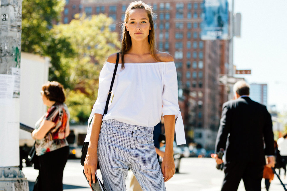 Looking to update your summer wardrobe with just a few clicks? Here are five key summer trends you can tap into now, with our edit of the best buys for each. Starting with an off-the-shoulder top...