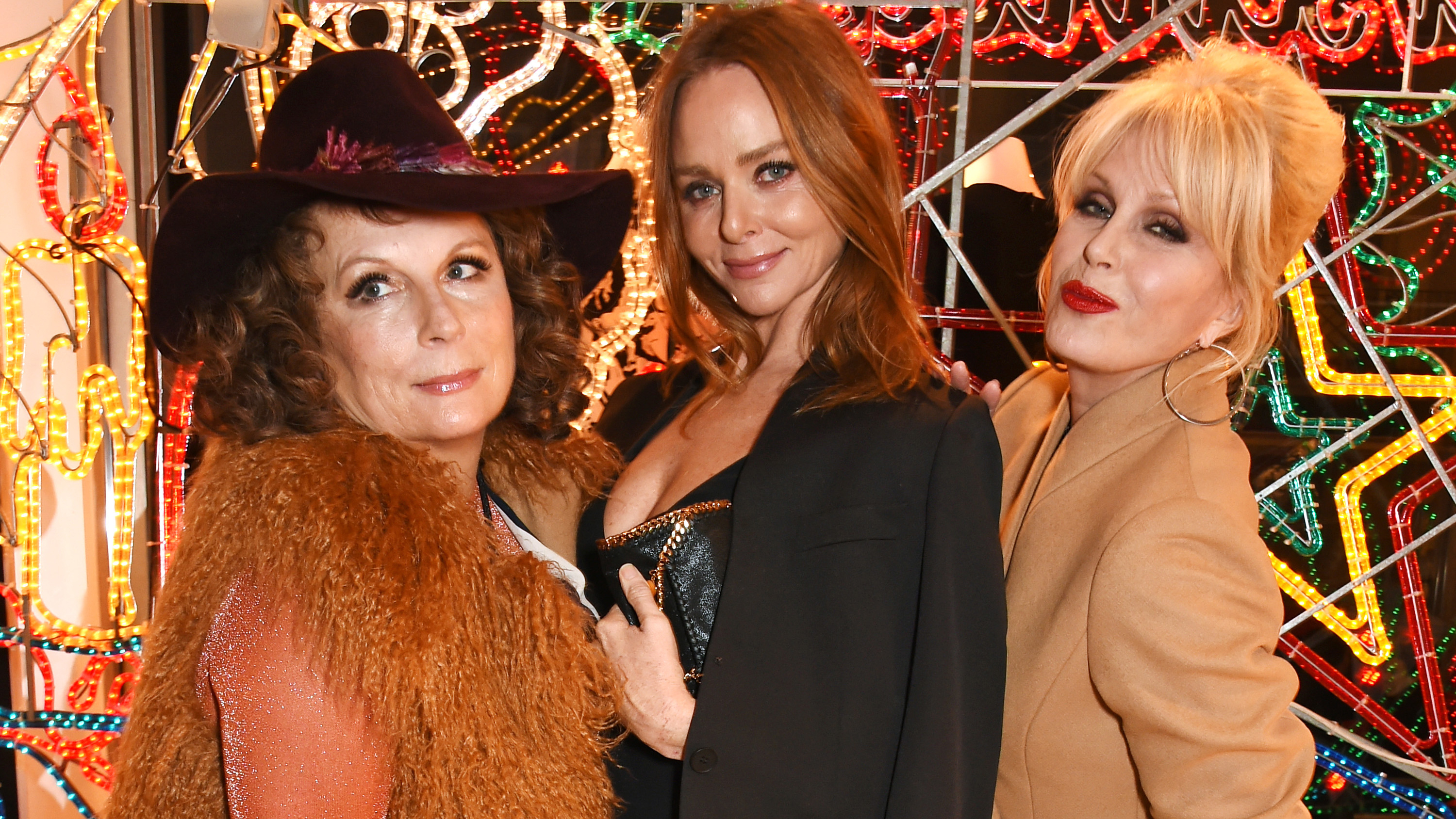 It wouldn't be Christmas without a little ceremony, and while for most, that involves stringing up the tree after a few wines on December 1, for Stella McCartney it means a lavish 'Christmas Lights Switch-On'. <em>Absolutely Fabulous</em>' Edina and Patsy got into the festive spirit, as did Salma Hayek, Lily Cole, and even a Rolling Stone. Click through to see the stylish guests do Christmas.