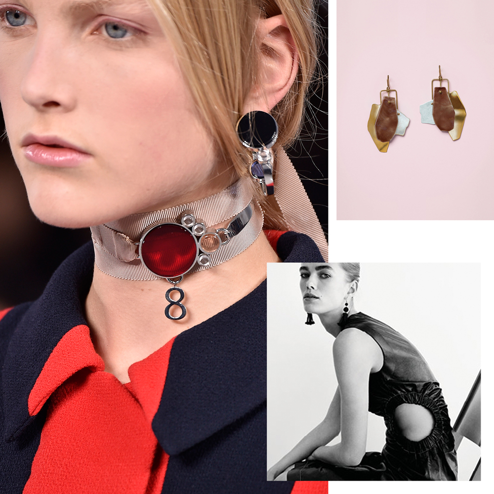 This party season, opt for artisanal statement earrings, necklaces and cuffs that don't require a plus-one. <em>Compiled by Elle McClure.</em>