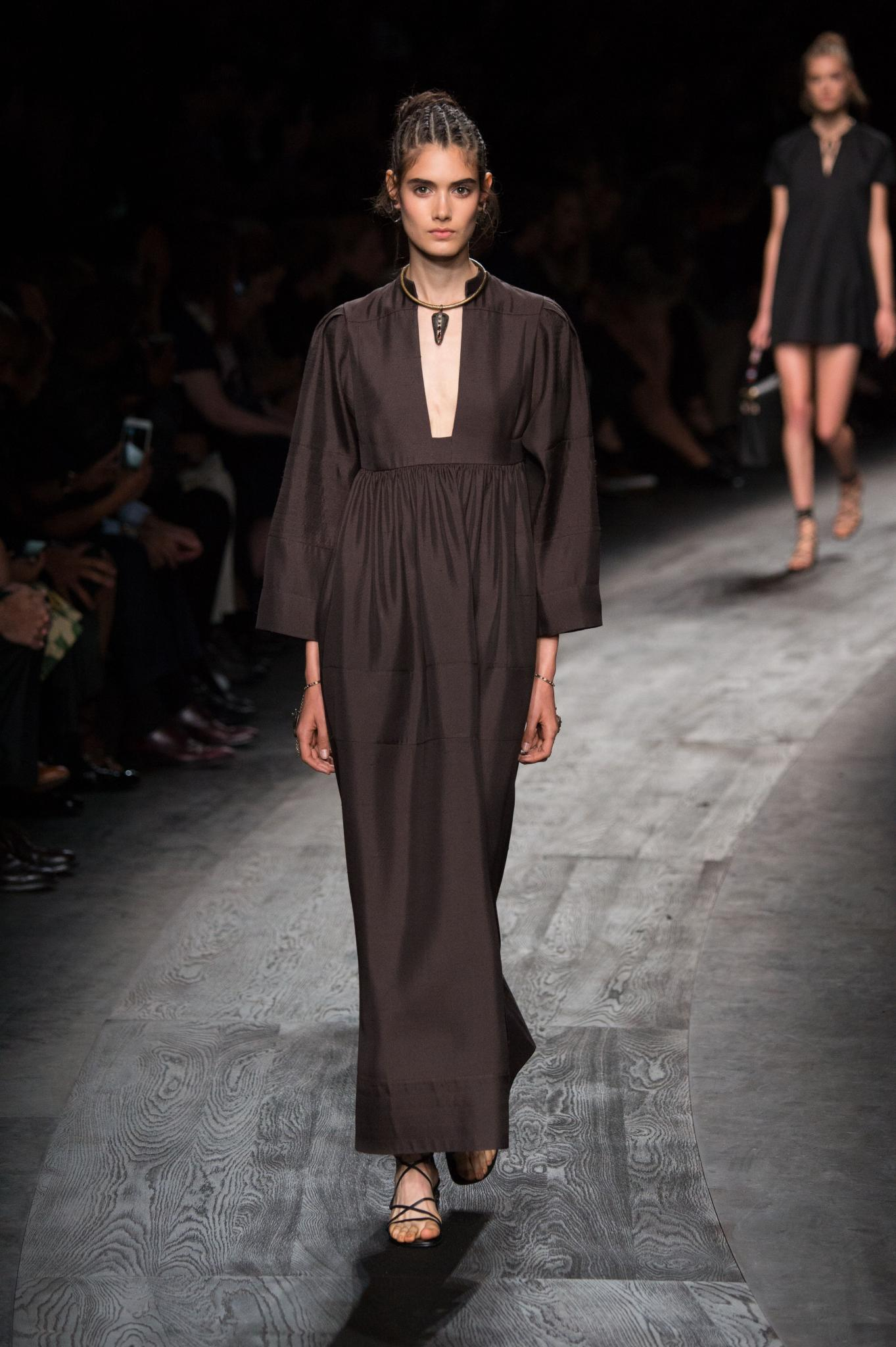 There were equal parts tenacity to tenderness in the beauty of Valentino's SS16 collection.