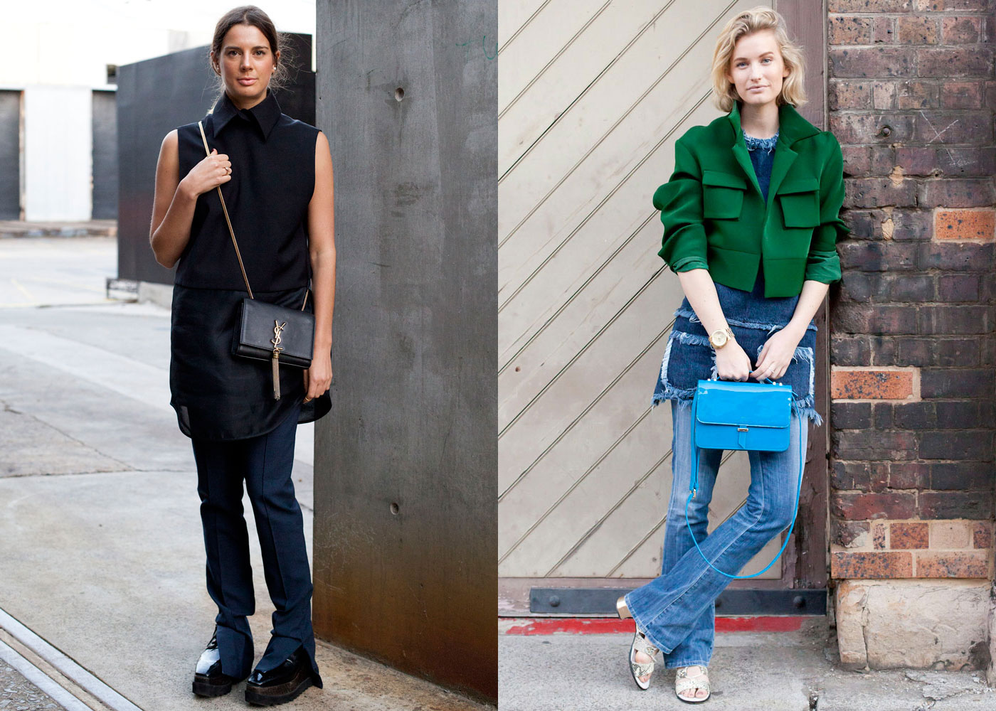 The easiest way to balance out the severe lines of a pair of flares, or a fun layering piece with a mini skirt, a tunic or long-line top is also this season's most flattering style hack. Here are 13 you can shop right now.