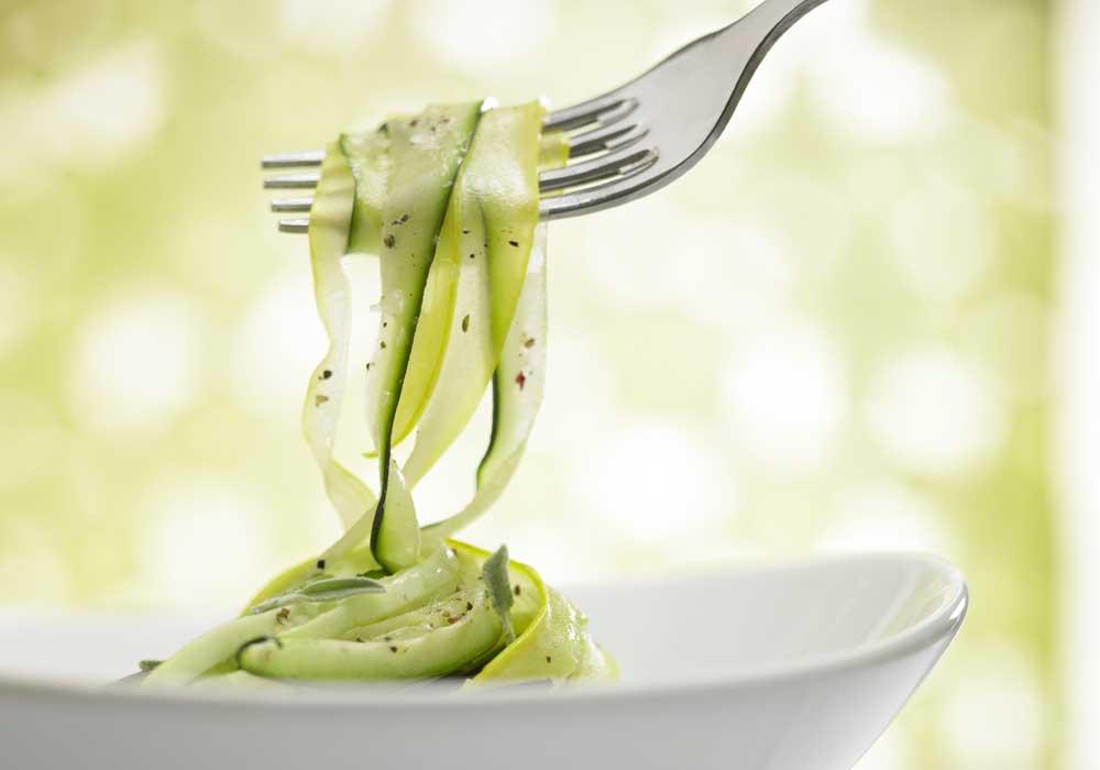 <p>Swap: pasta for zucchini</p>