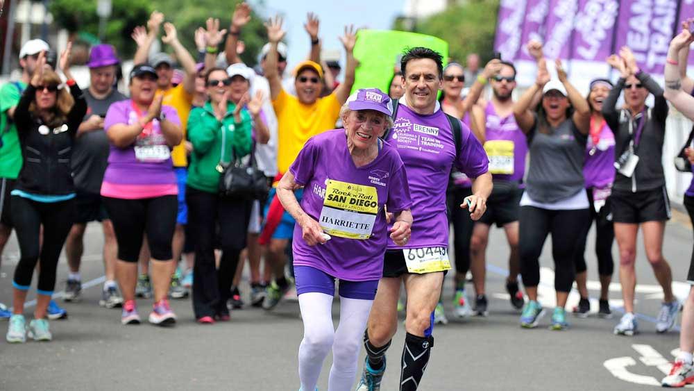 Oldest marathon runner