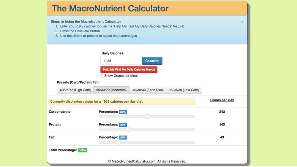 macronutrientcalculator.com