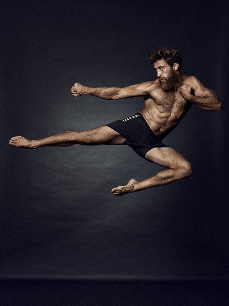 Personal trainer Jesse Hogan